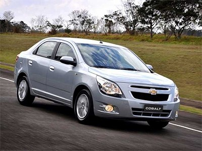 Chevrolet Cobalt в России подорожал