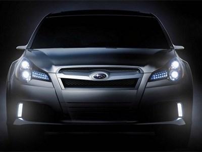 Новое поколение седана Subaru Legacy дебютирует на автошоу в Чикаго