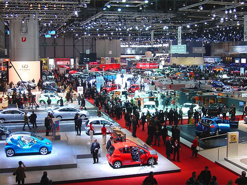 География автопремьер: 5 самых престижных автосалонов в мире
