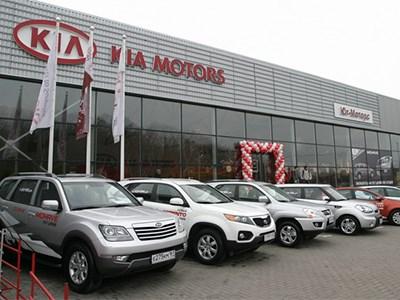 Продажи автомобилей Kia в России выросли в марте на 7,3%