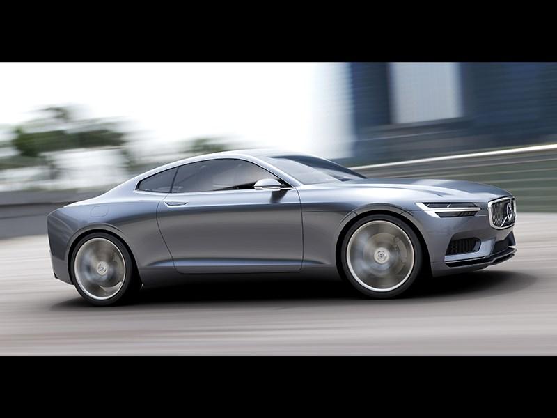 Volvo Coupe концепт 2013 вид сбоку фото 5