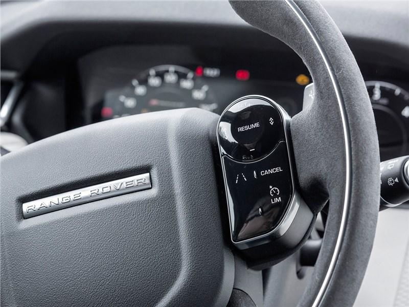 Range Rover Velar 2017 руль