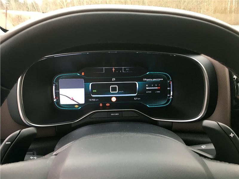Citroen C5 Aircross 2020 приборная панель