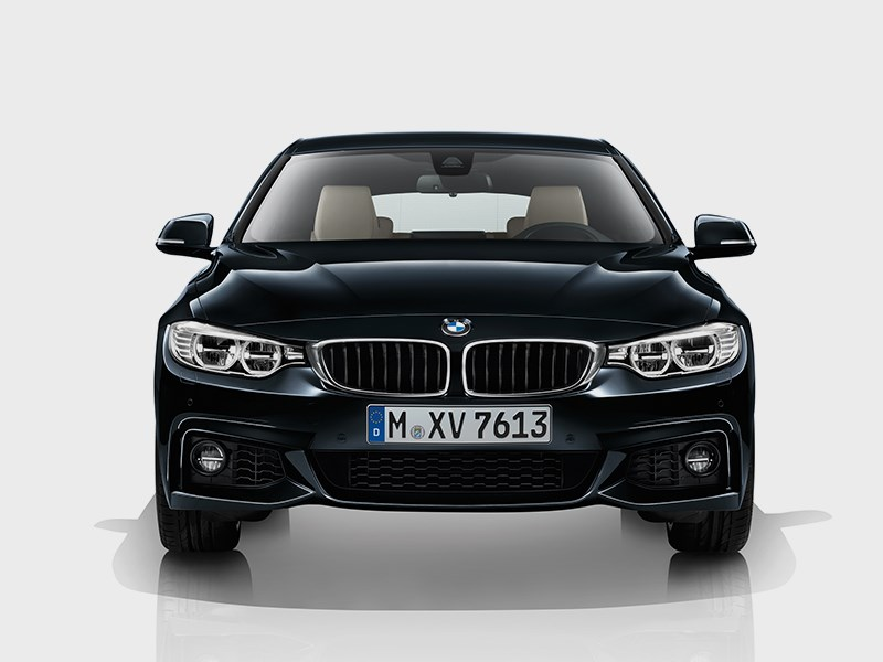BMW 4 Series Gran Coupe 2014 вид спереди фото 3