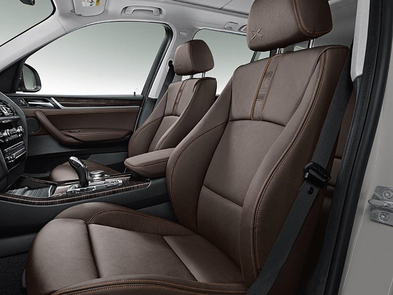 BMW X3 2014 интерьер фото 2