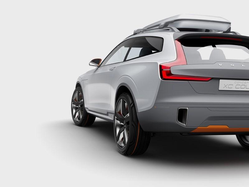 Volvo XC Coupe concept 2014 вид сзади фото 4