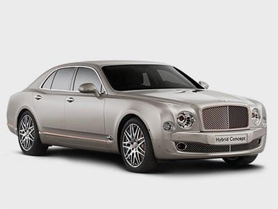 Bentley покажет в Пекине концепткар с технологией подключаемого гибрида
