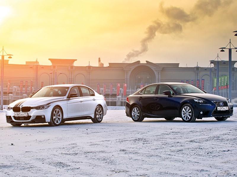 Lexus IS - сравнительный тест bmw m3 и lexus is