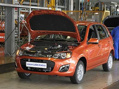 Производство Lada Granta и Lada Kalina остановлено до конца апреля