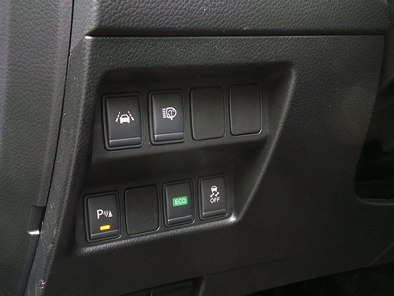 Nissan Qashqai 2014 клавиши режимов