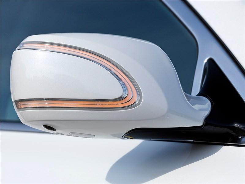 Kia Quoris 2015 боковое зеркало