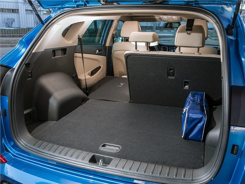 Hyundai Tucson 2016 багажное отделение
