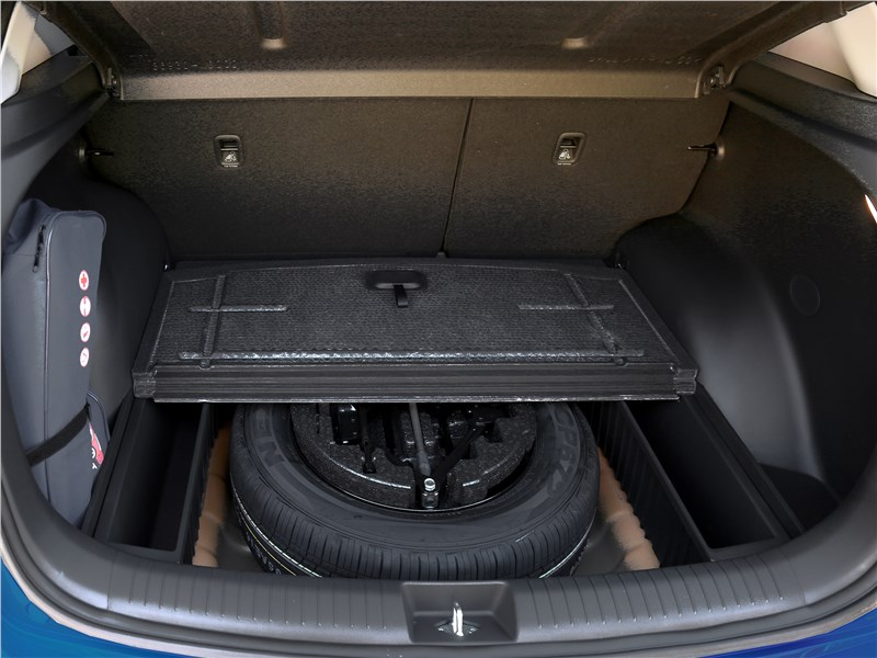 Hyundai Creta 2016 запасное колесо