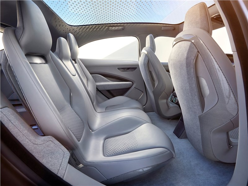 Jaguar I-Pace Concept 2016 задний диван