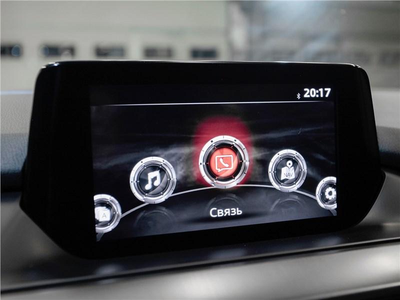 Mazda 6 2016 дисплей