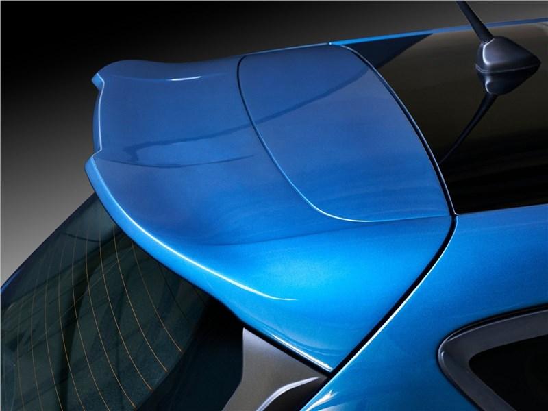 Ford Fiesta ST 2018 антикрыло