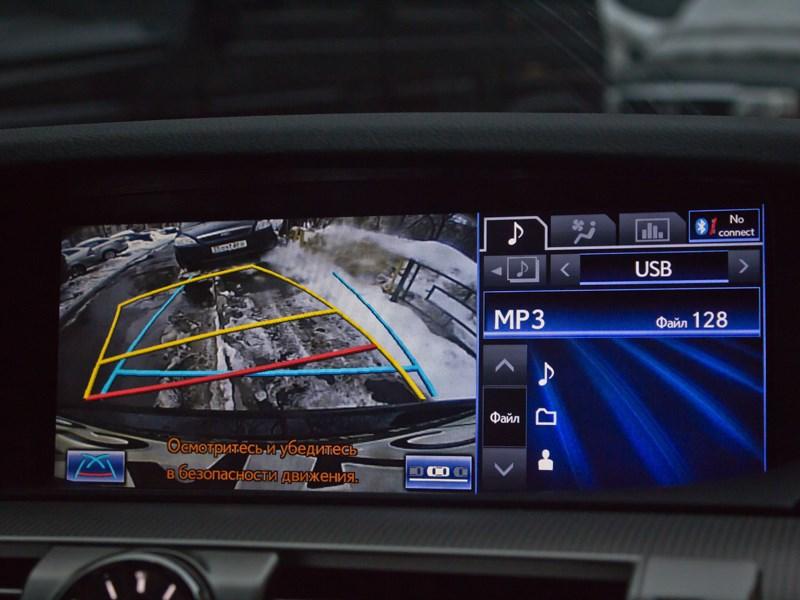 Lexus LS 600h F Sport 2012 монитор
