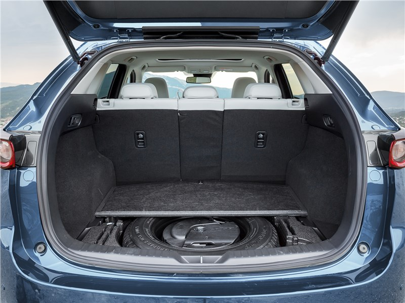 Mazda CX-5 2017 багажное отделение