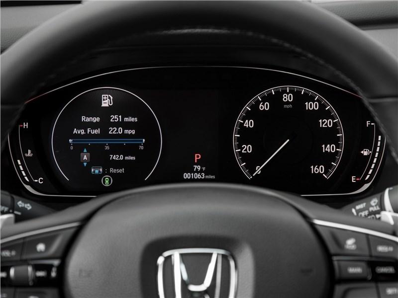 Honda Accord 2018 приборная панель