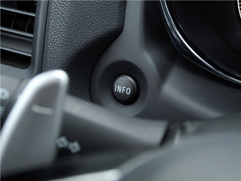 Mitsubishi ASX 2017 кнопка INFO
