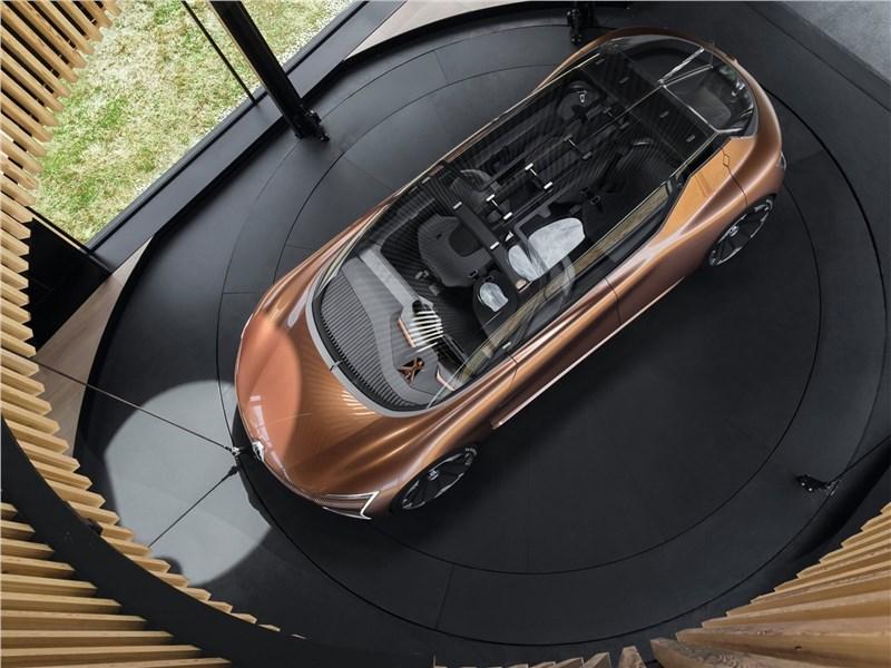 Renault Symbioz Concept 2017 вид сзверху