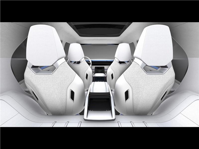 SsangYong e-SIV EV Concept 2018 салон