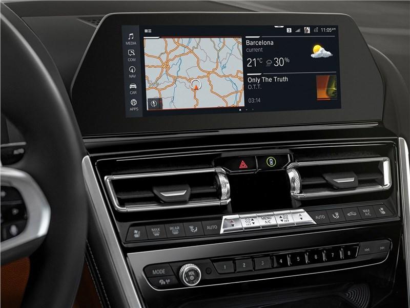 BMW 8-Series Coupe 2019 центральная консоль