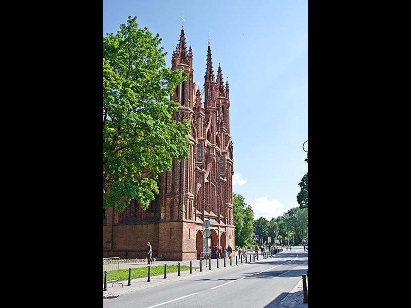 В Литве очень много готических соборов