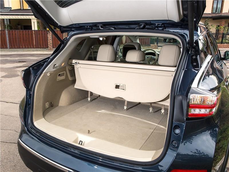 Nissan Murano 2015 багажное отделение