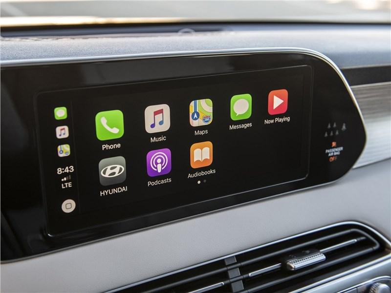 Hyundai Palisade 2020 монитор