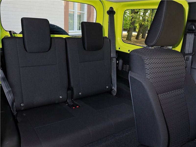 Suzuki Jimny 2019 задний диван