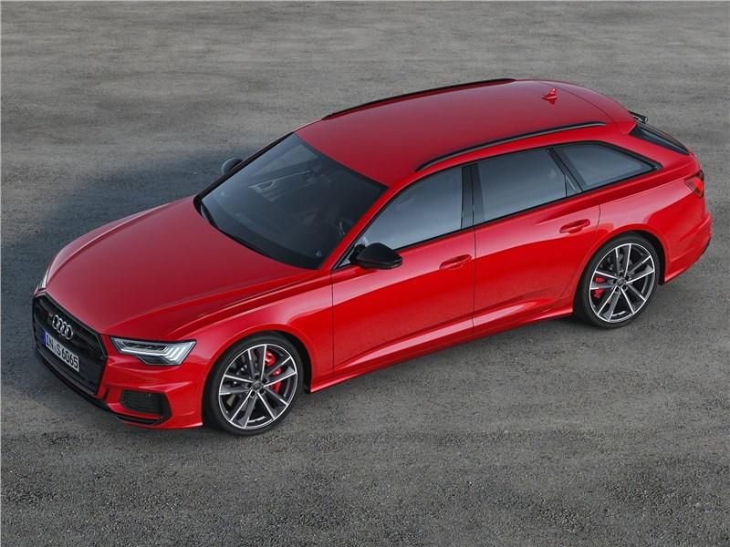 Audi S6 Avant TDI 2020 вид сверху