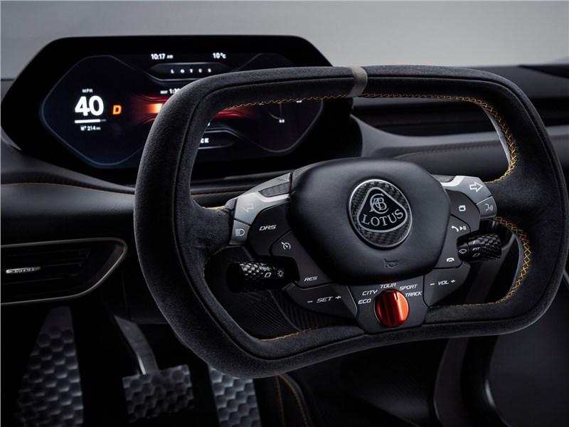 Lotus Evija 2020 руль