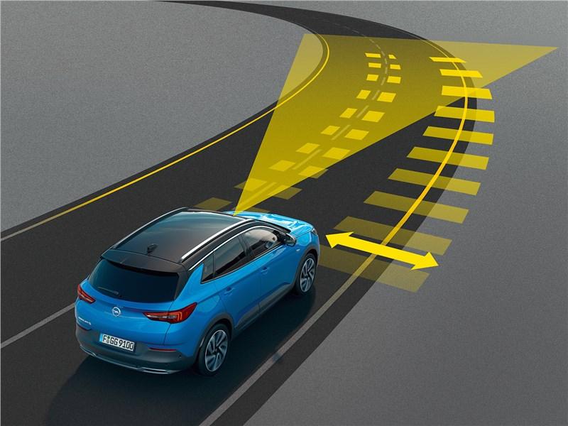 Opel Grandland X 2018 электронные ассистенты