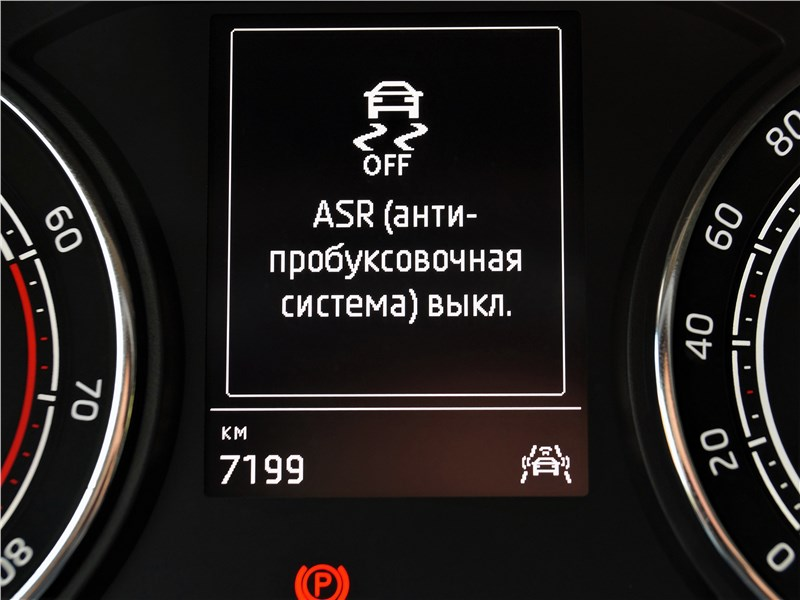 Skoda Rapid 2020 приборная панель