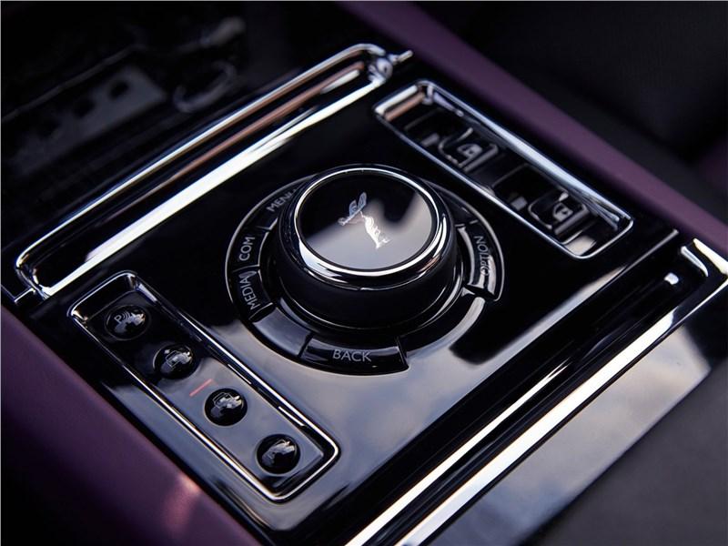Rolls-Royce Ghost (2021) выбор режимов