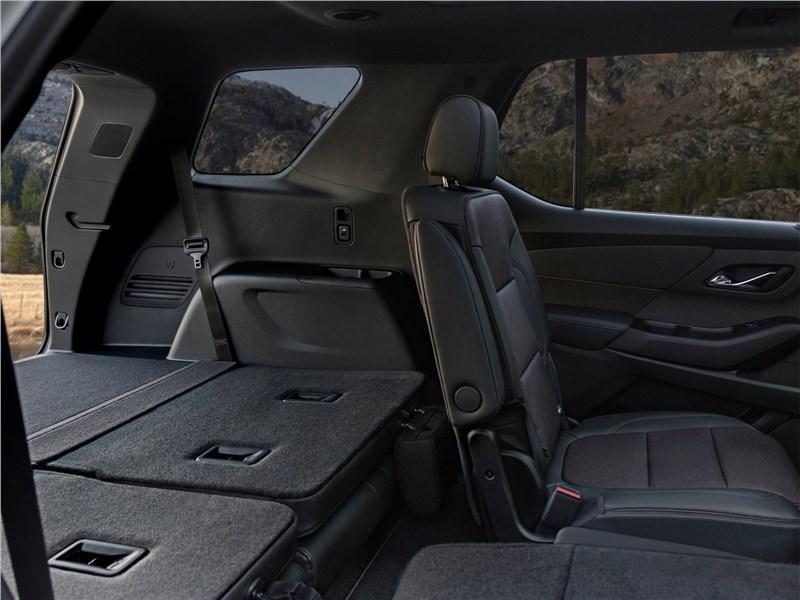 Chevrolet Traverse (2021) салон