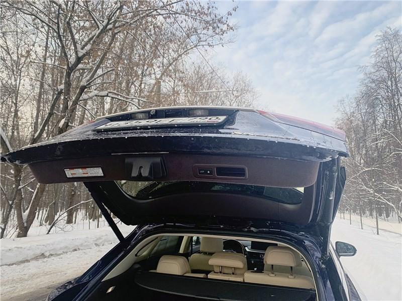 Lexus RX (2020) багажное отделение