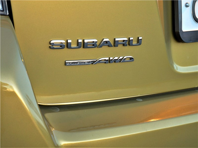 Subaru XV (2022) шильдик