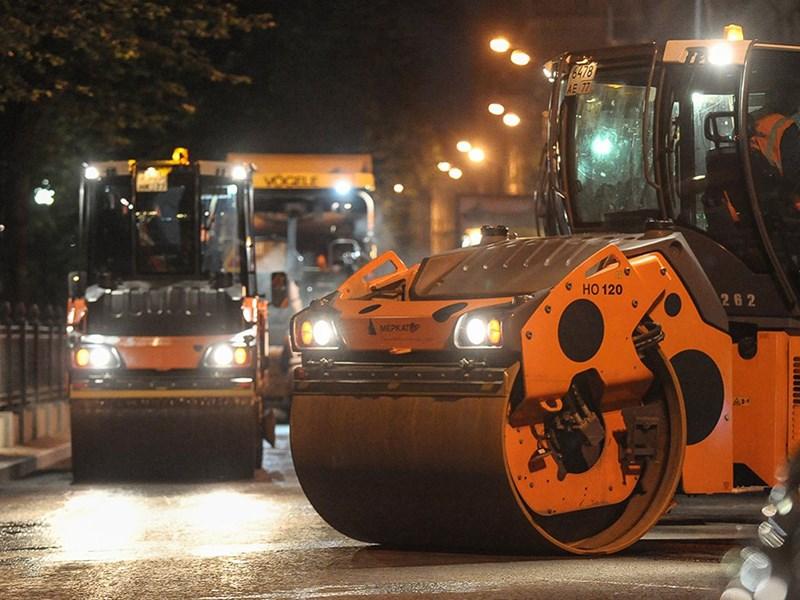 В Москве начался масштабный ремонт дорог