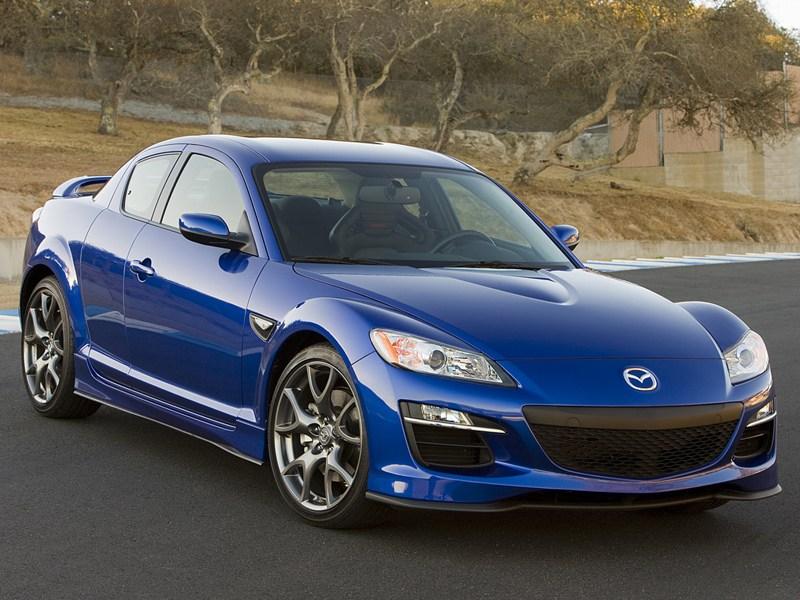 Скорость и стиль по доступной цене (Audi TT, Chrysler Crossfire, Hyundai Coupe, Mazda RX-8, Mercedes-Benz SLK) RX-8