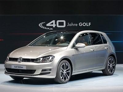 Volkswagen готовит юбилейную спецверсию хэтчбека Golf