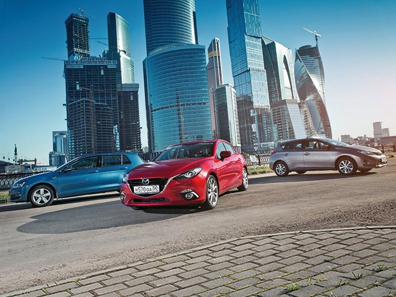 Mazda 3 - охота на лидера