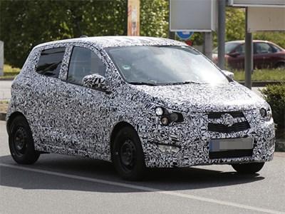 Opel в будущем году представит новую бюджетную модель