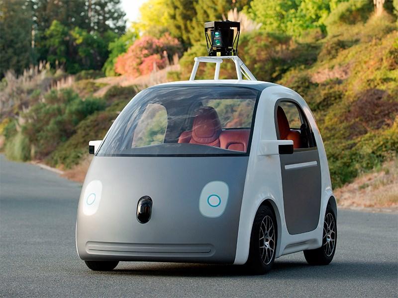 Новый Google Concept Elektrocar - Беспилотник от Google