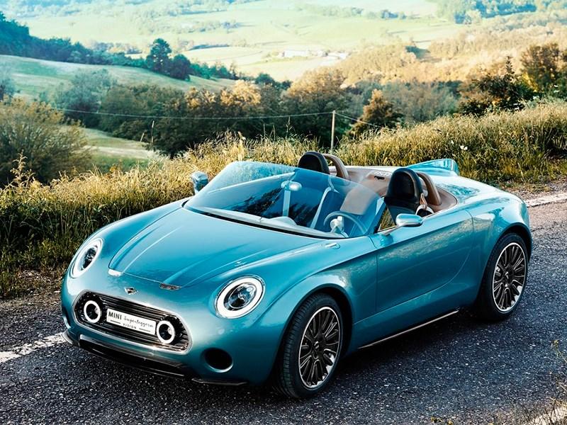 Новый MINI Superleggera Vision - MINI Superleggera Vision concept 2014 Традиции и новации