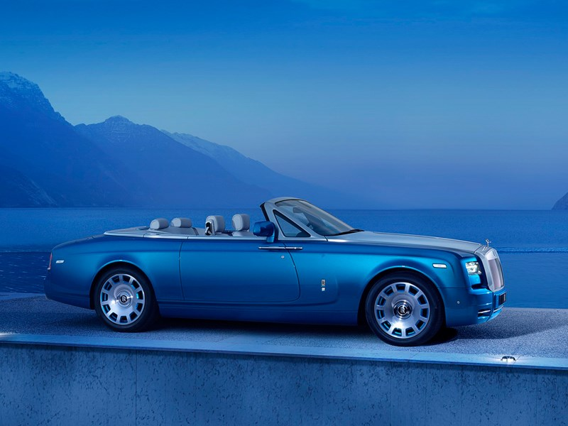 Rolls-Royce Phantom Drophead Coupe Waterspeed Collection 2014 На суше и на море