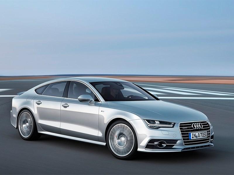 """Новый Audi A7 - Audi A7 Sportback 2014 Великолепная """"семерка"""""""
