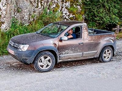 Renault готовится представить новый Duster в кузове пикап