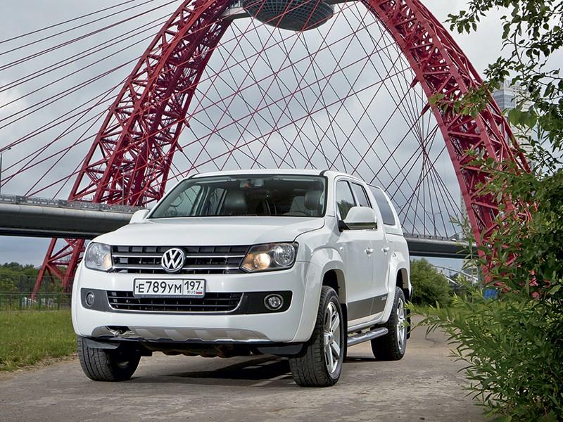 Volkswagen Amarok 2014 Максимальный эффект